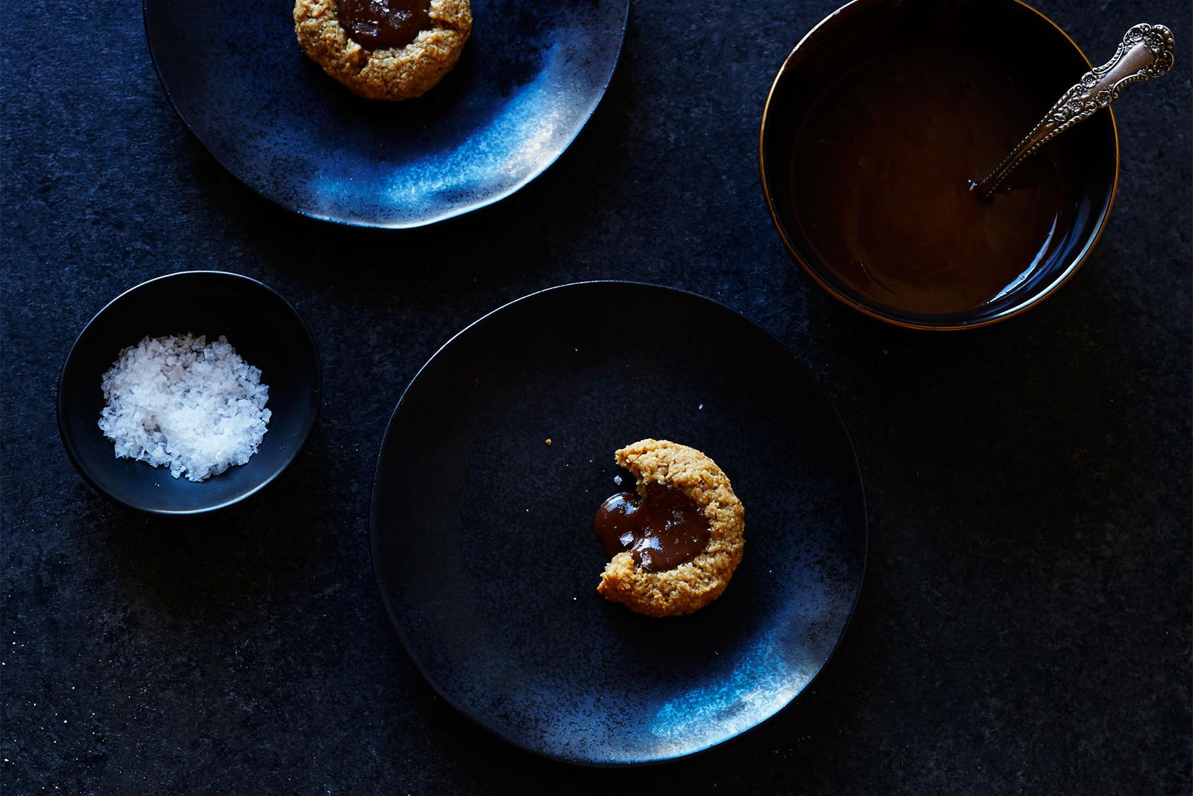 ソルティー・タヒニ・チョコレートクッキー