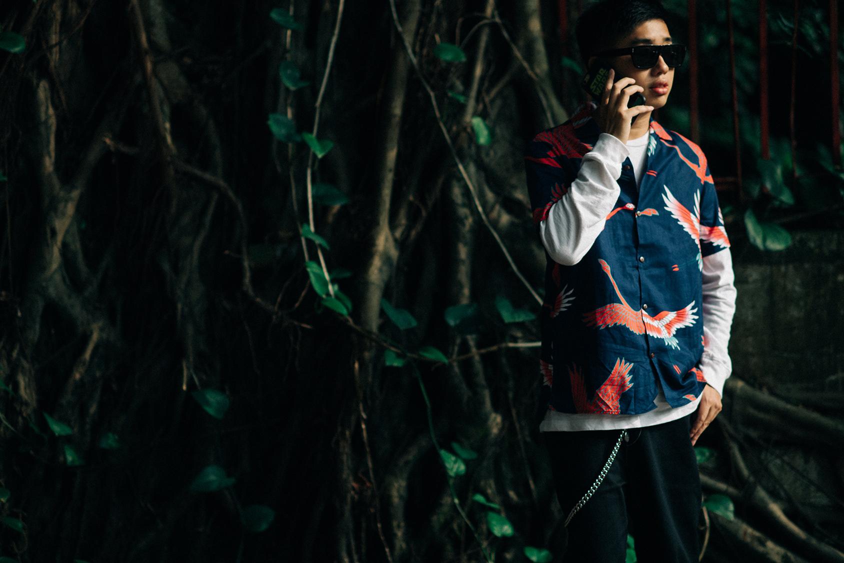 Declan Chan印花衬衫