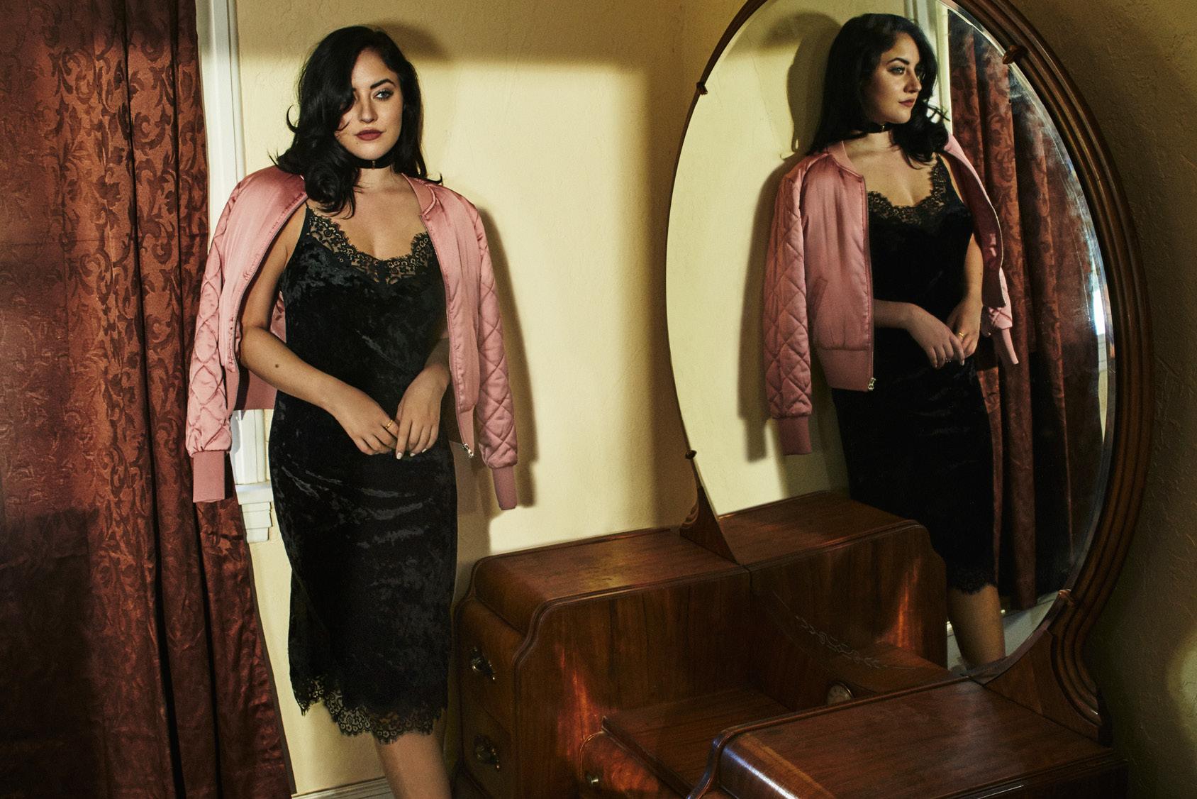 Starlie Smith wearing H&M