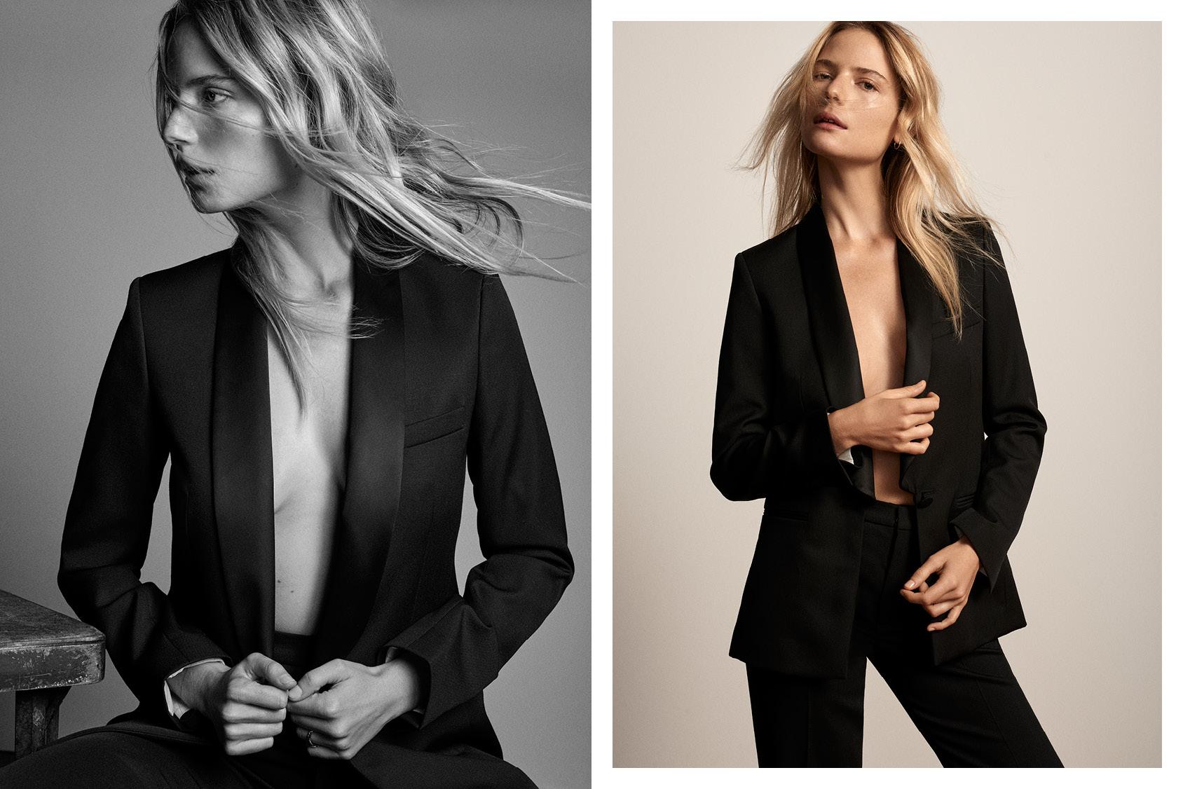 Camilla Deterre wearing H&M blazer