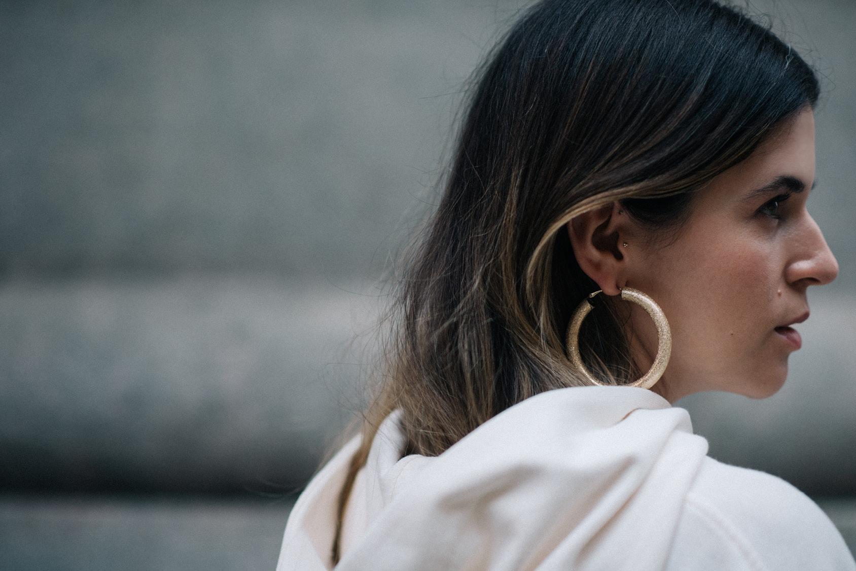 Maristella Gonzalez - H&M hoop earring