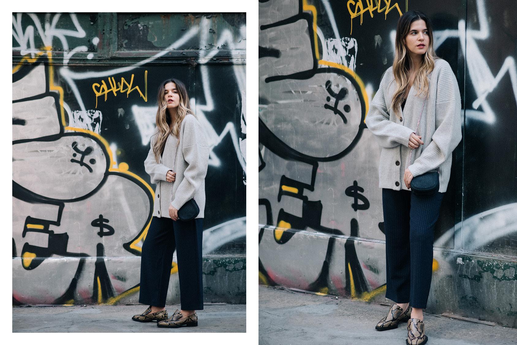 Maristella Gonzalez - H&M cardigan