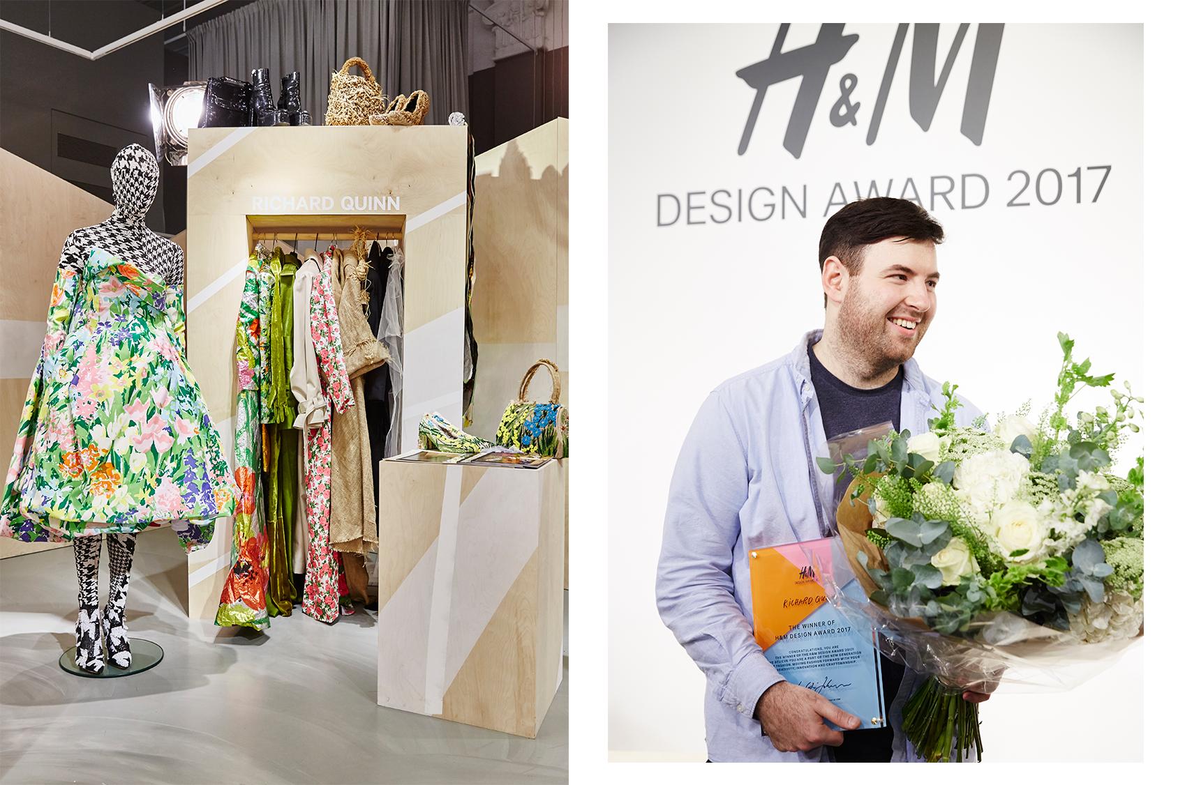 Richard Quinn wins the H&M Design Award 2017_1