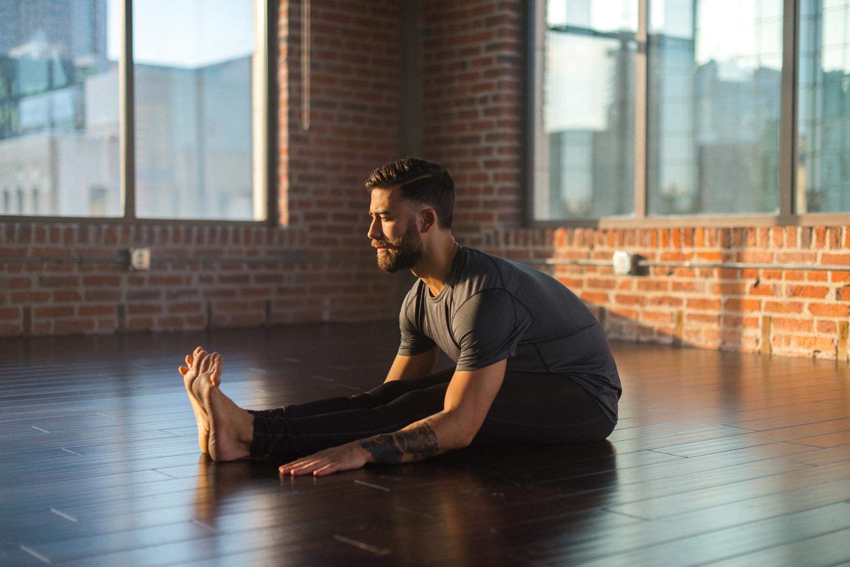 How to stretch like a yoga pro, step 2