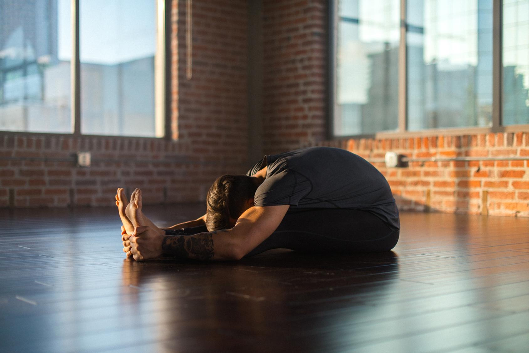 How to stretch like a yoga pro, step 3