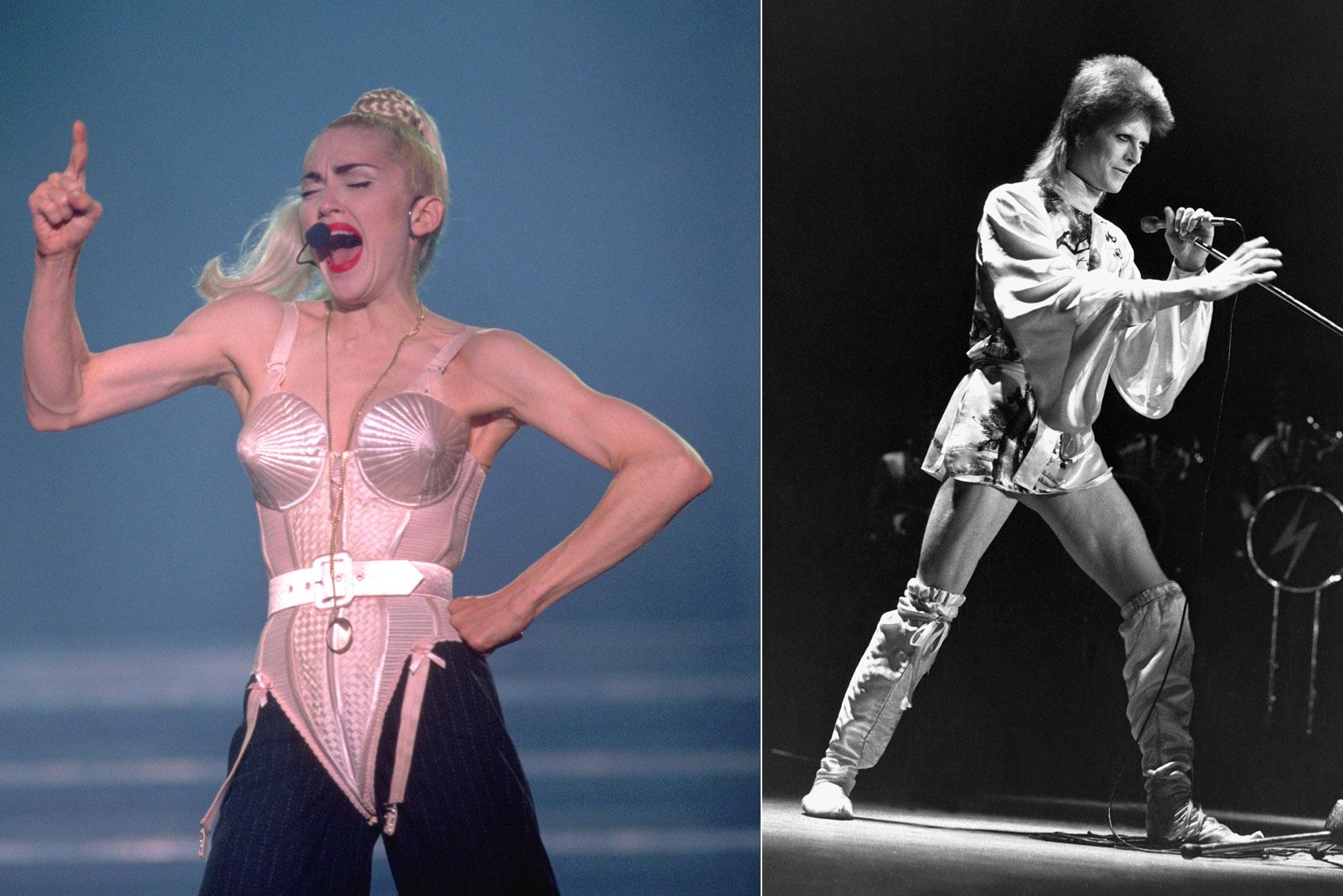 Madonna & David Bowie