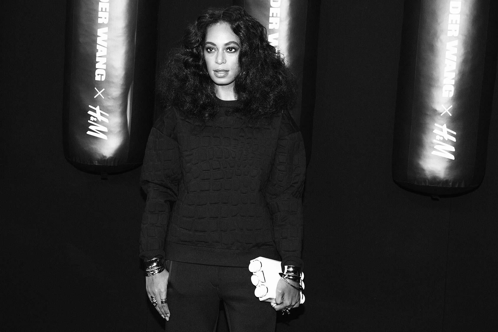 Solange Knowles On The Black Carpet