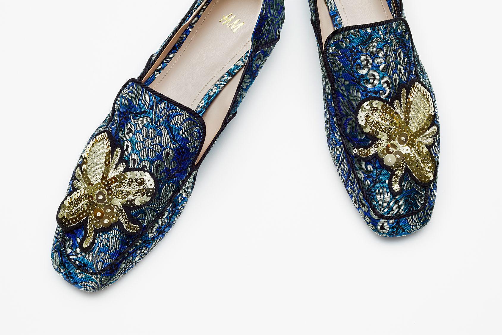 H&M派對樂福鞋
