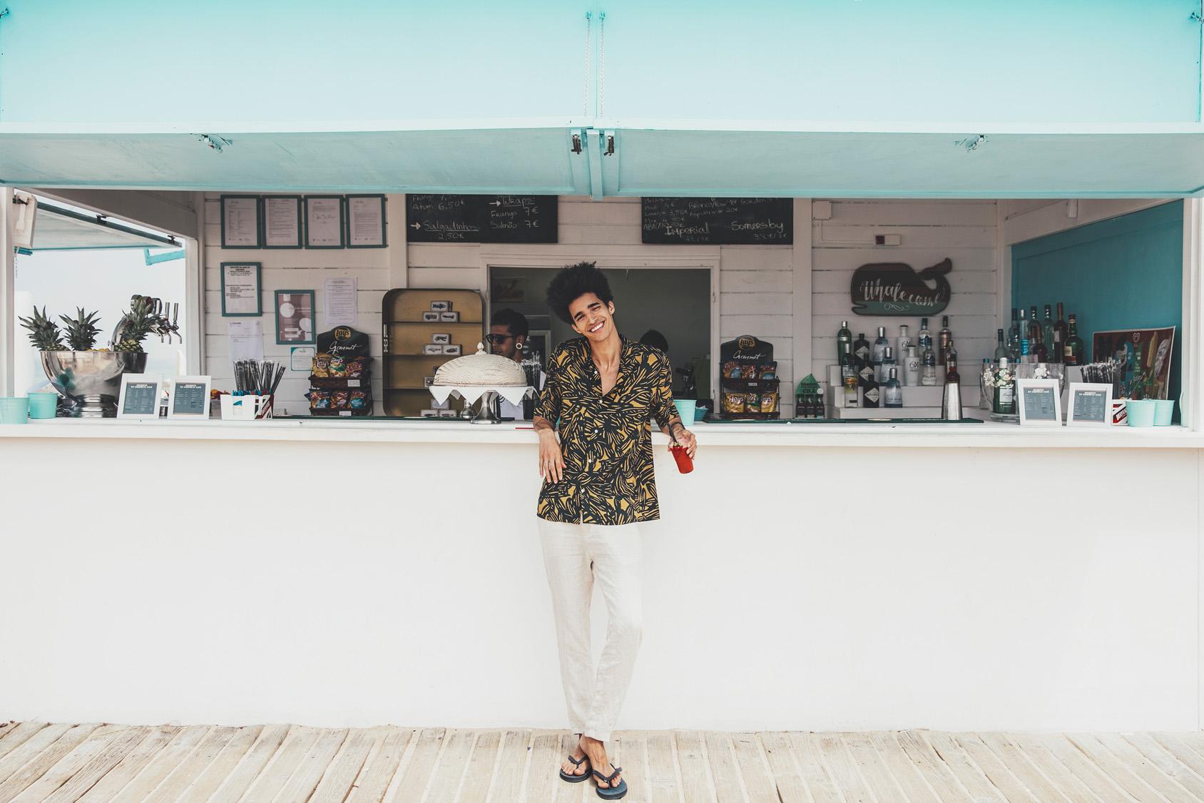 LUÍS BORGES COMPORTA'DA H&M STİLİ İÇİNDE