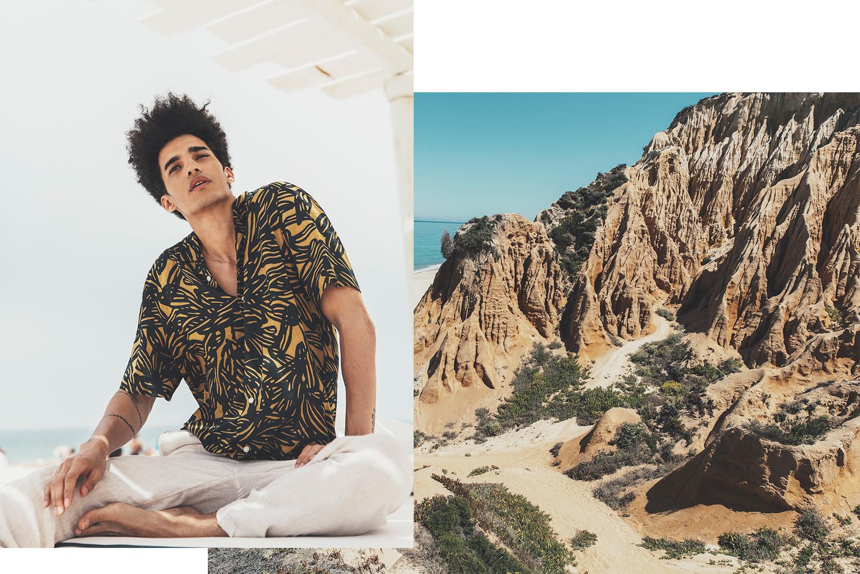 LUÍS BORGES H&M 衬衫