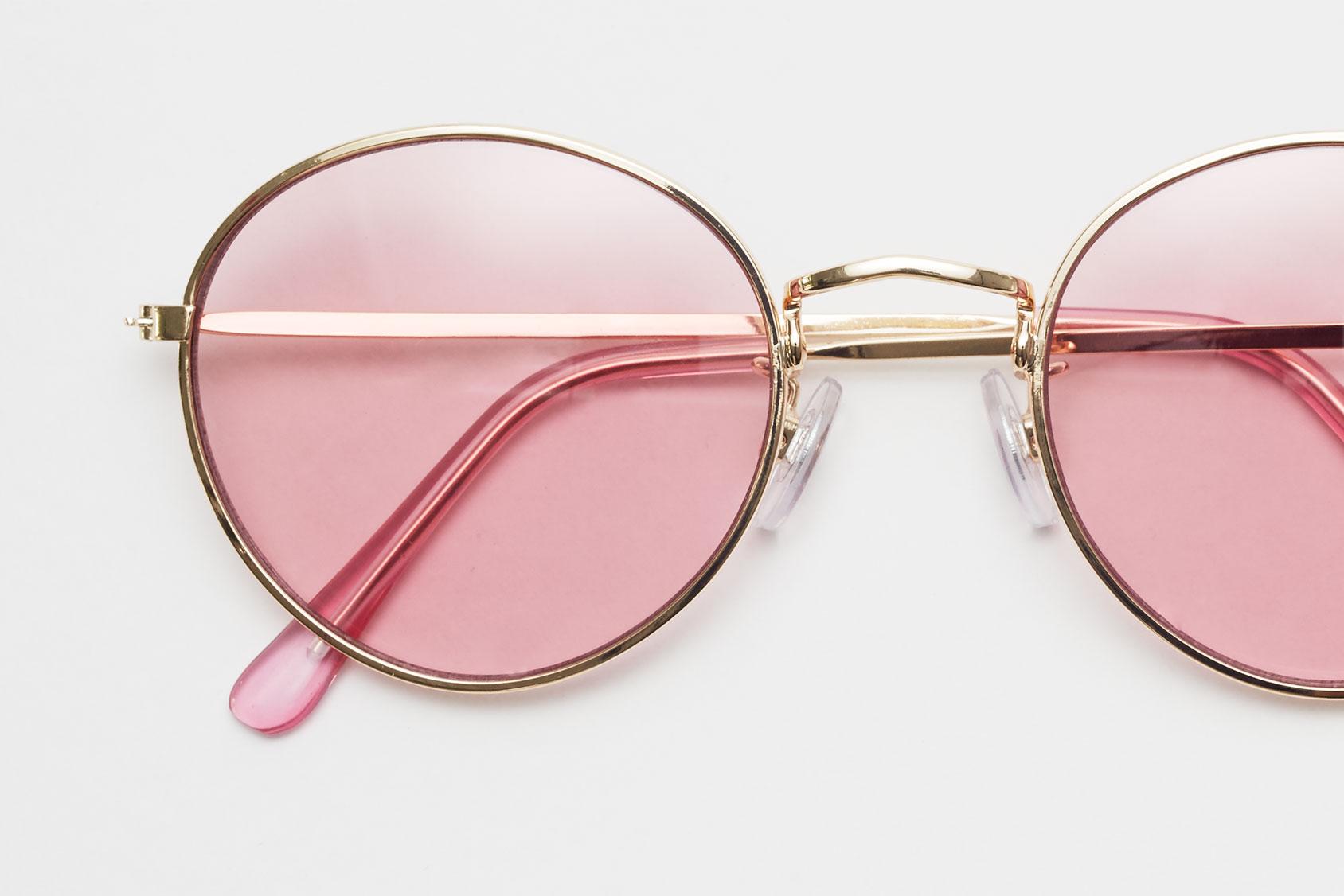 粉色H&M墨镜