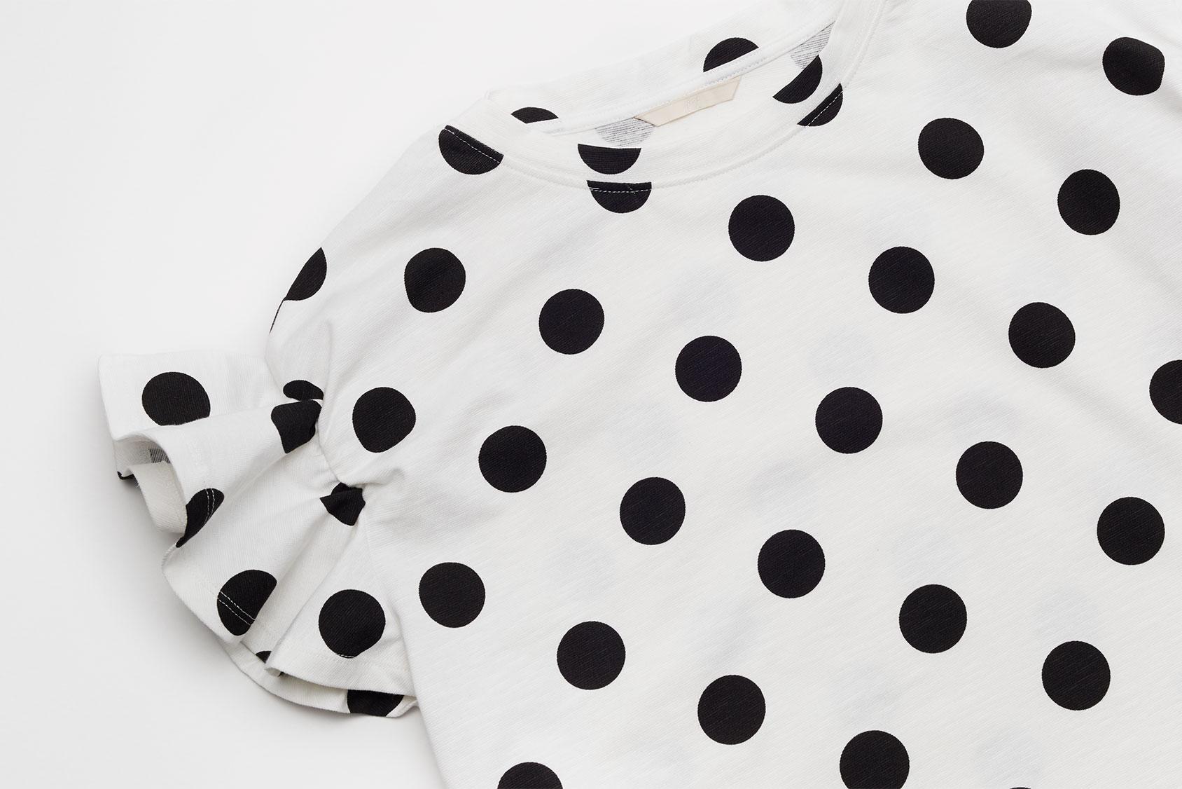 Polka dot t-shirt H&M