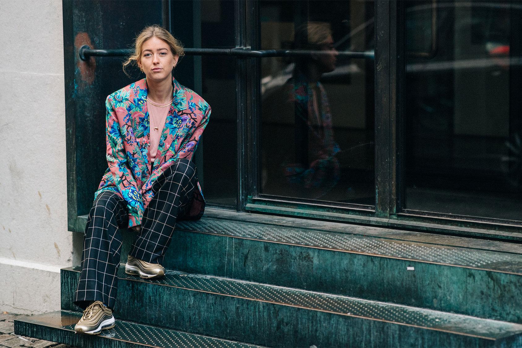 Emili Sindlev in H&M