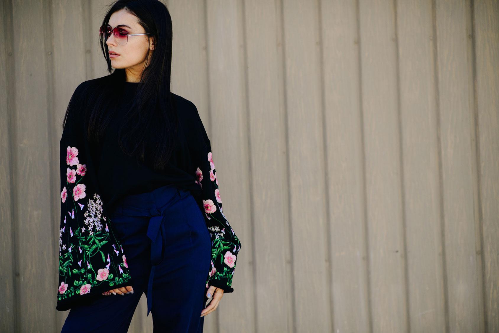 Marta Pozzan wearing H&M
