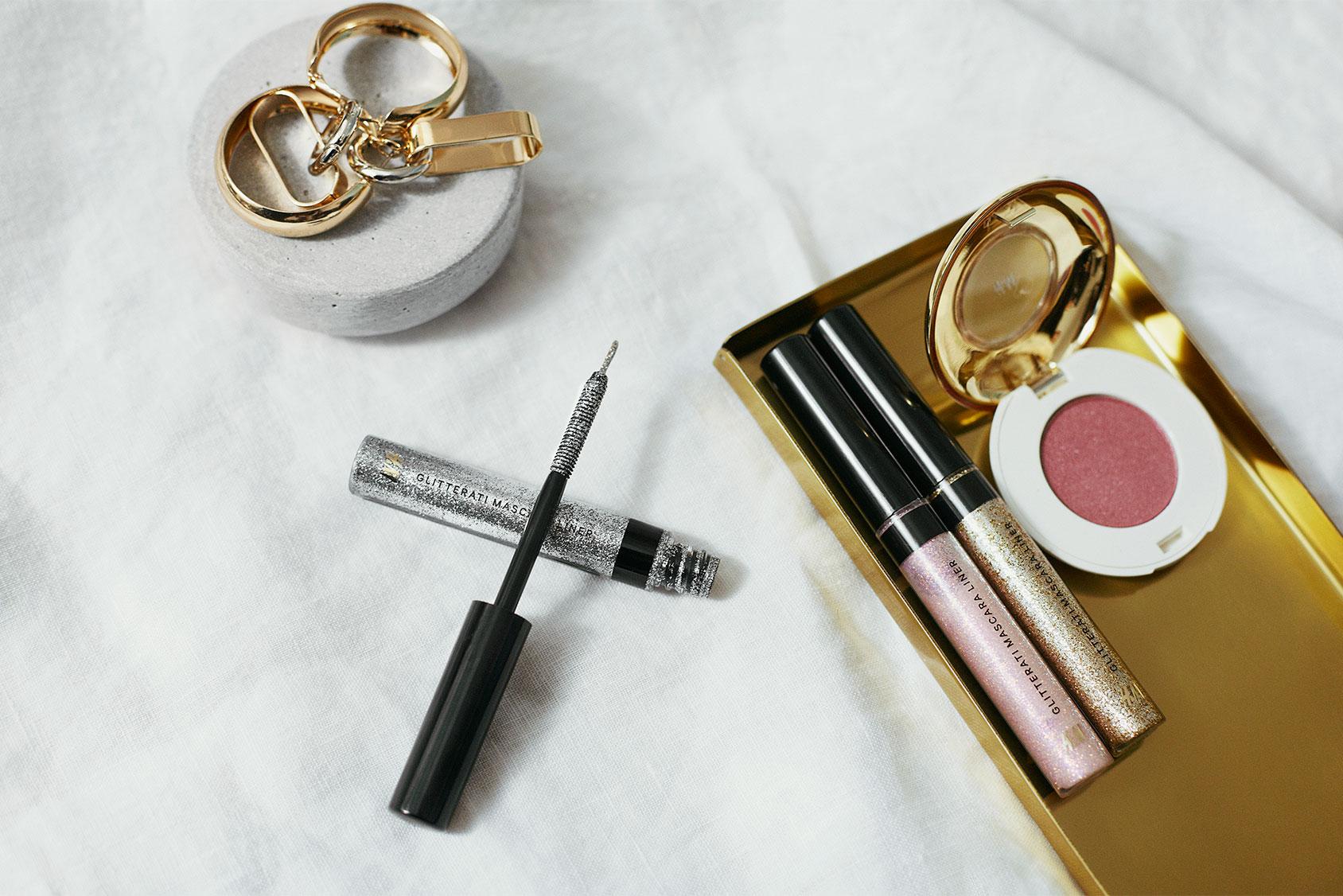 Glitter makeup H&M