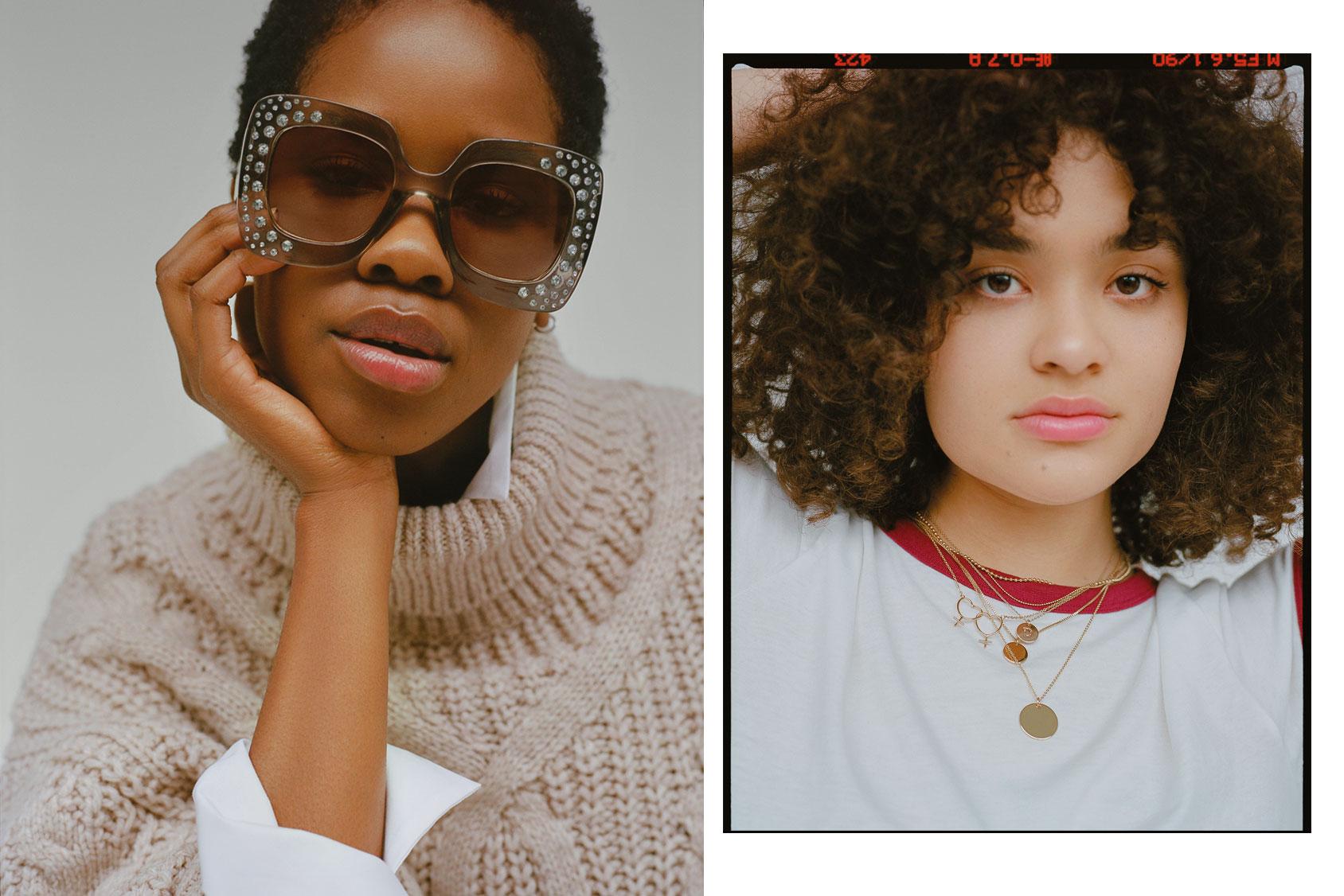 H&M墨镜&项链