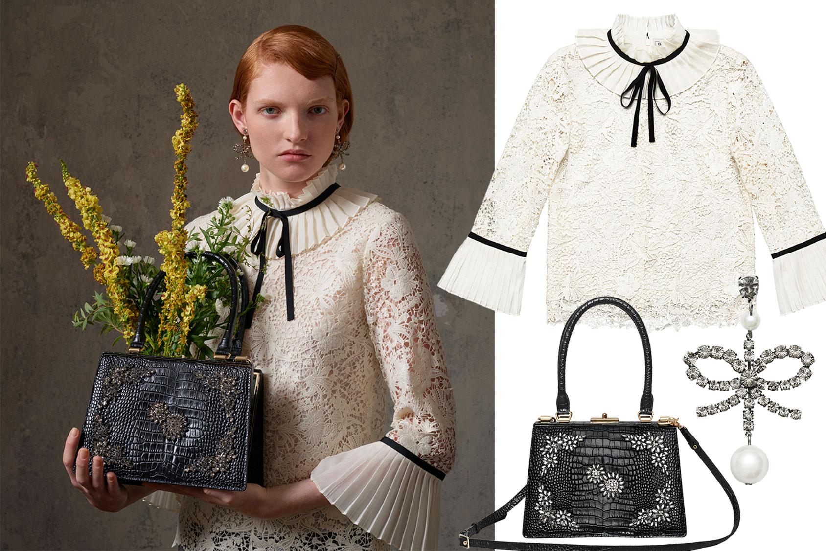 ERDEM X H&M blouse