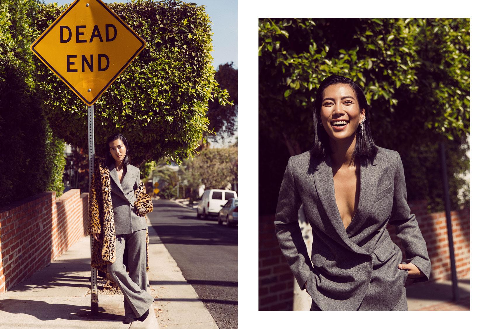 Molly Chiang ERDEM x H&M suit