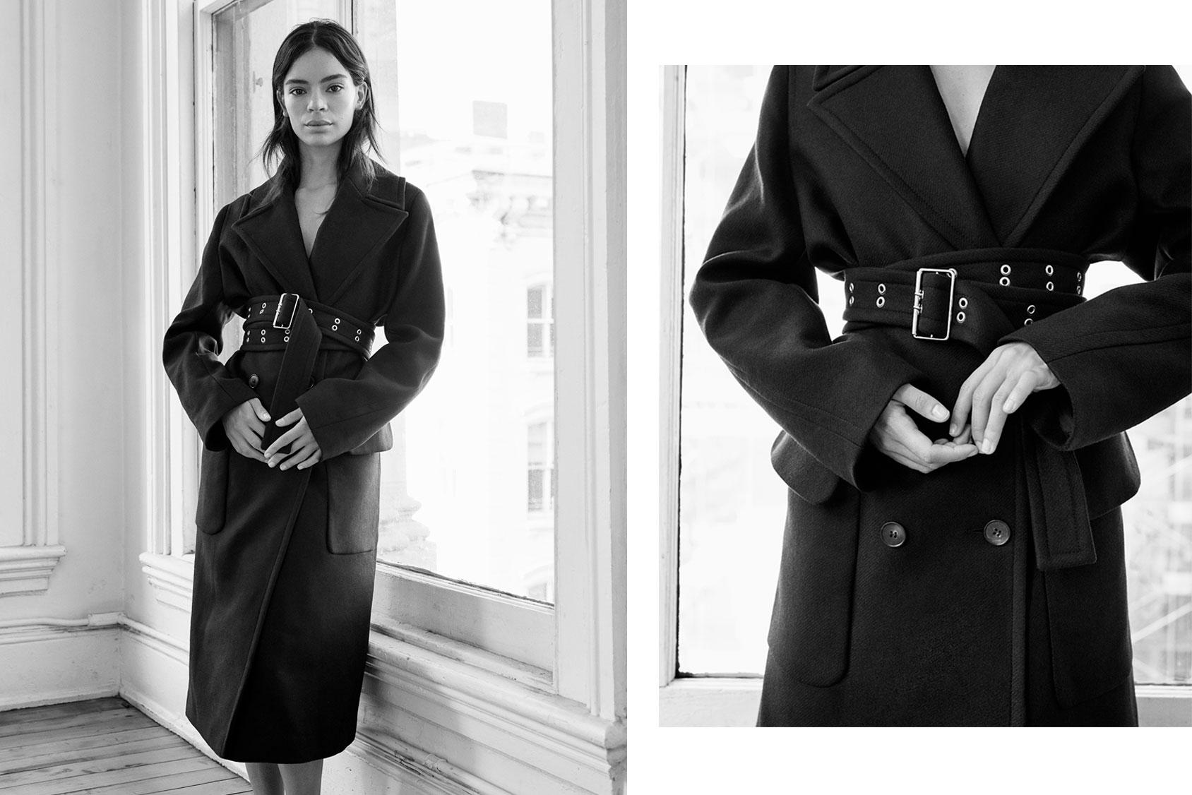 Coco Baudelle wears this season\'s best coat | H&M DK