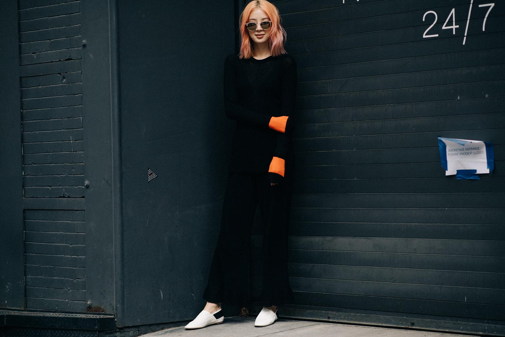 IRENE KIM WEARS H&M STUDIO S/S 17