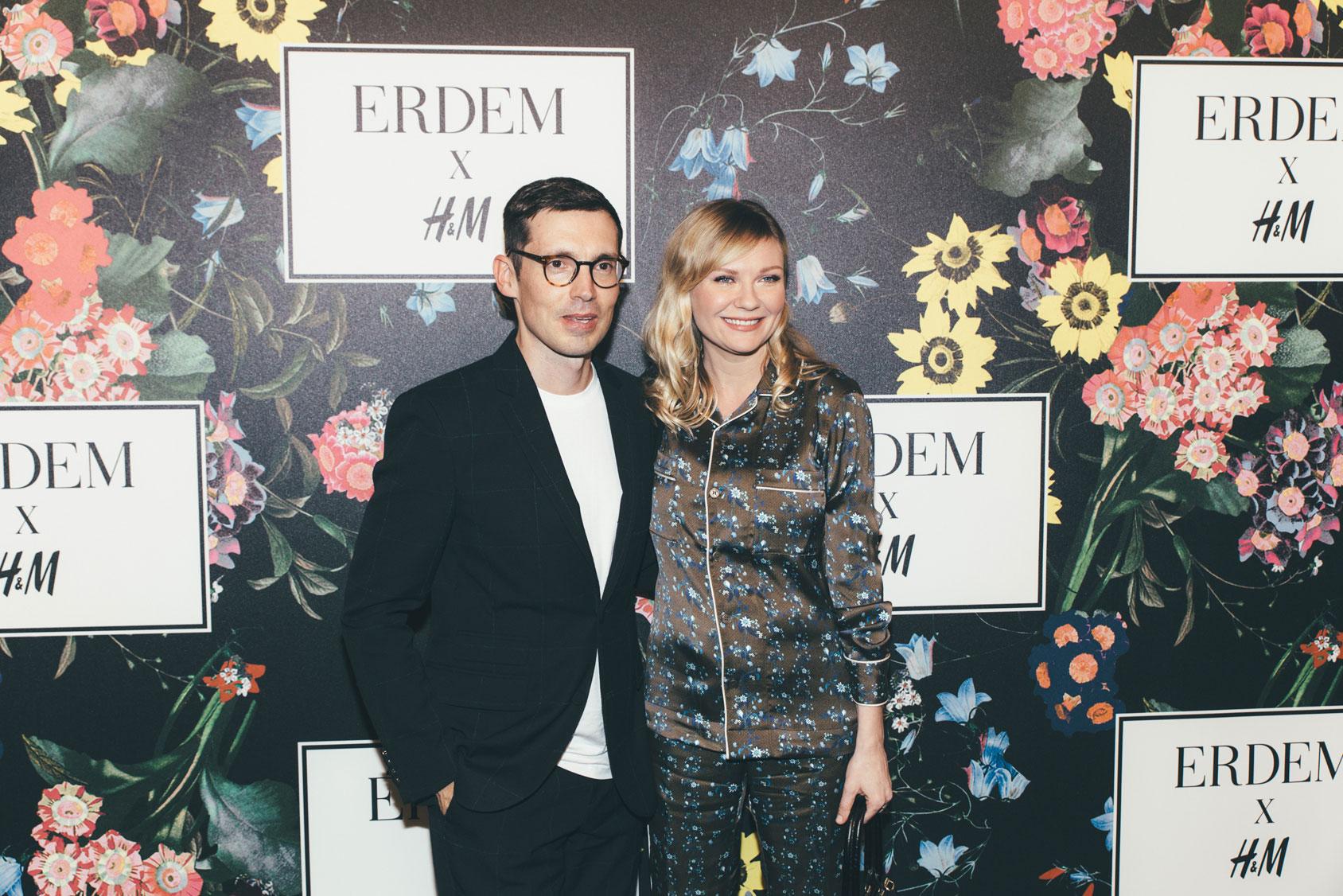 Erdem and Kirsten Dunst.