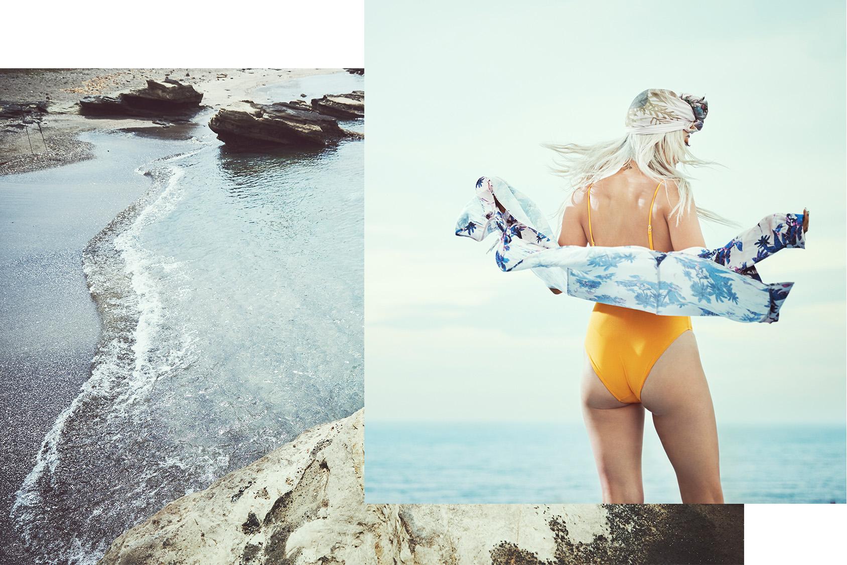 ALISA UENO'S JAPANESE SUMMER BEACH SPOT