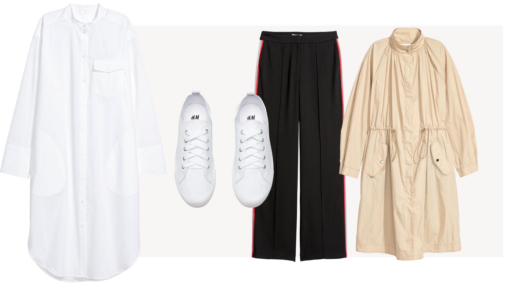Look urbano elegante H&M