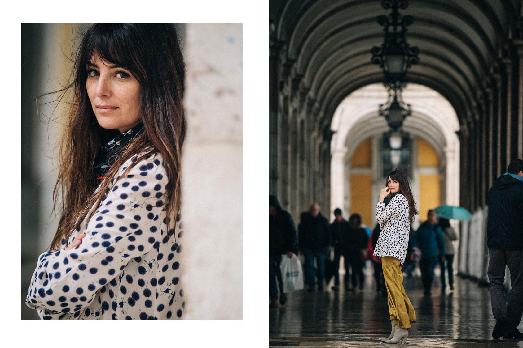 Helena Coelho in H&M blouse