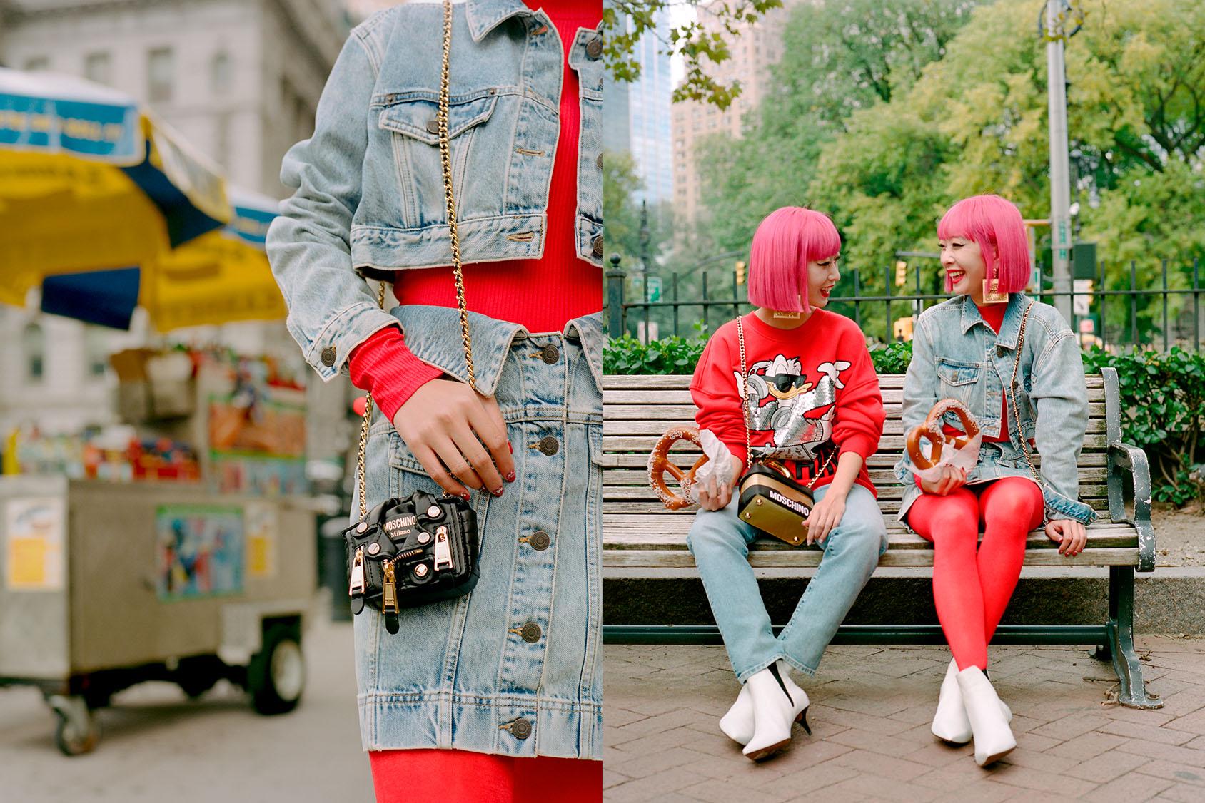 MOSCHINO [TV] H&M LIKE AMIAYA