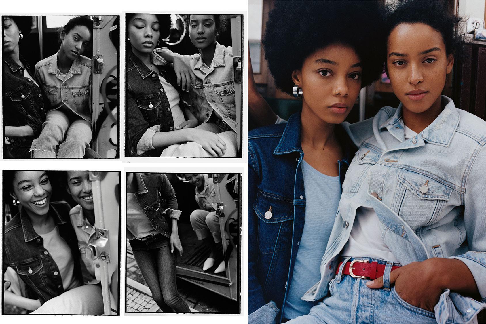 Flora Carter 和 Camille Munn H&M