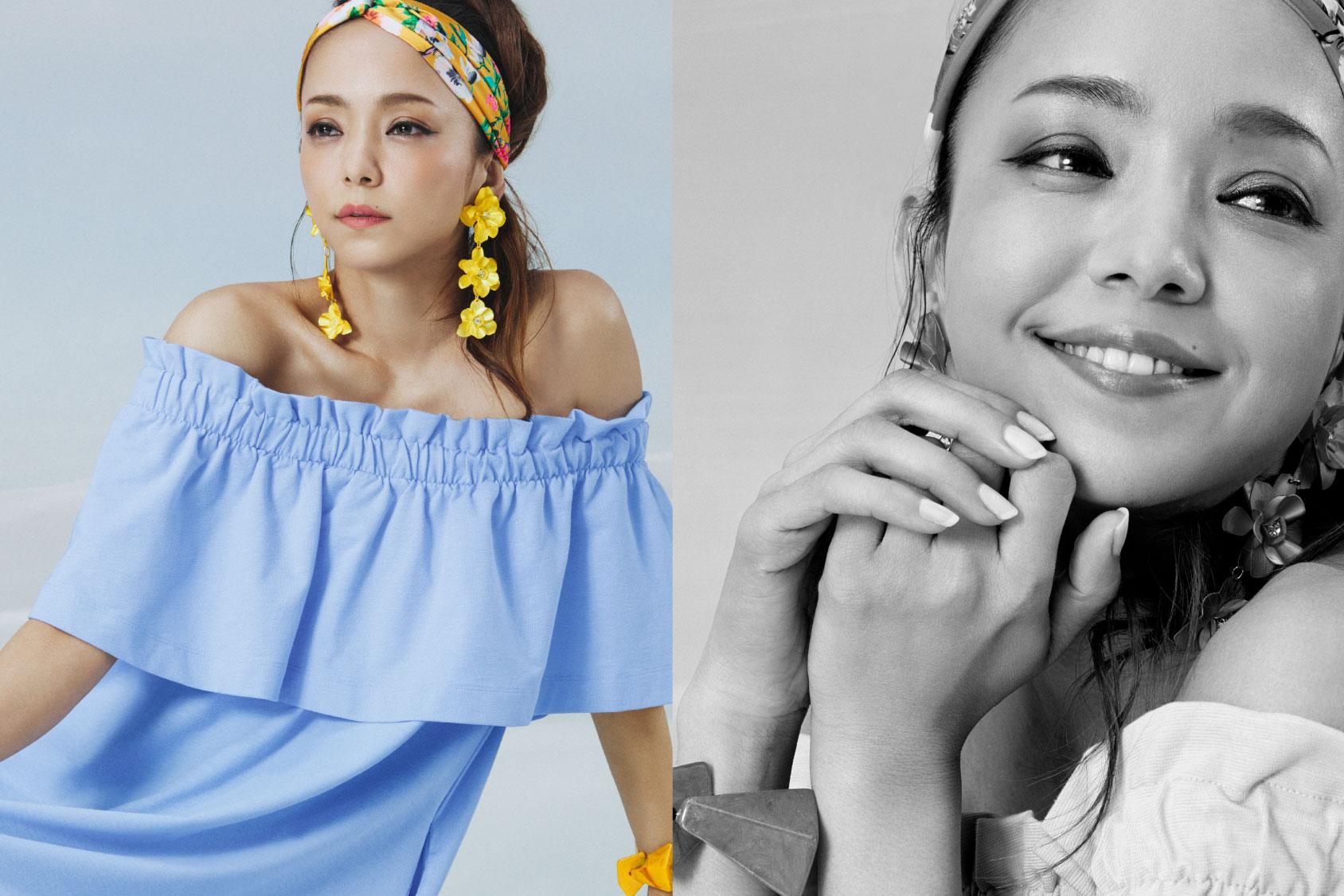 Namie Amuro x H&M: dress