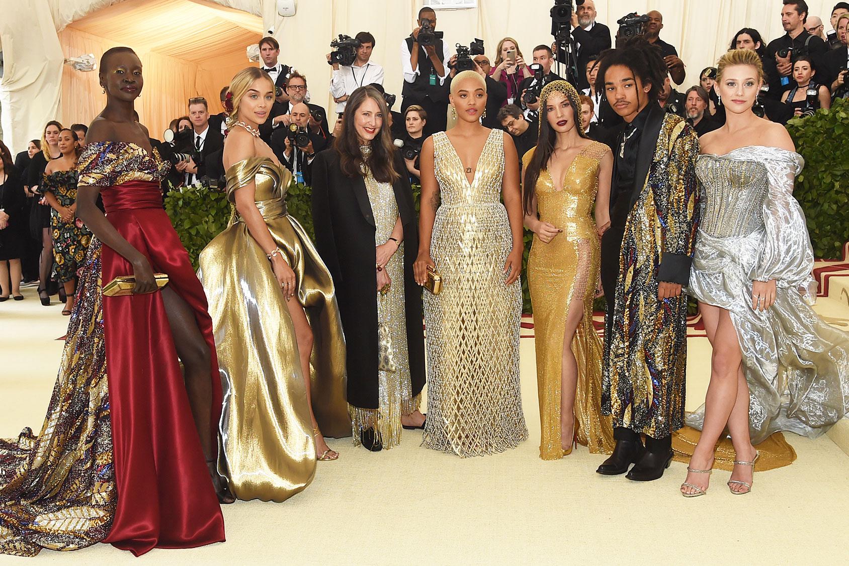 Vistieron de H&M en la Met Gala