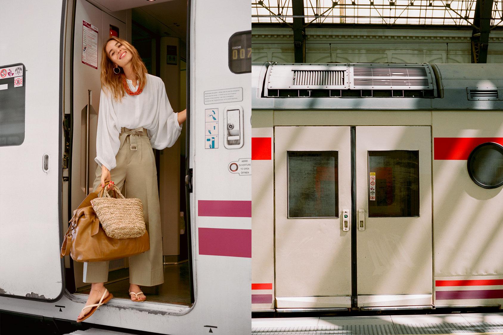 Tren en Barcelona