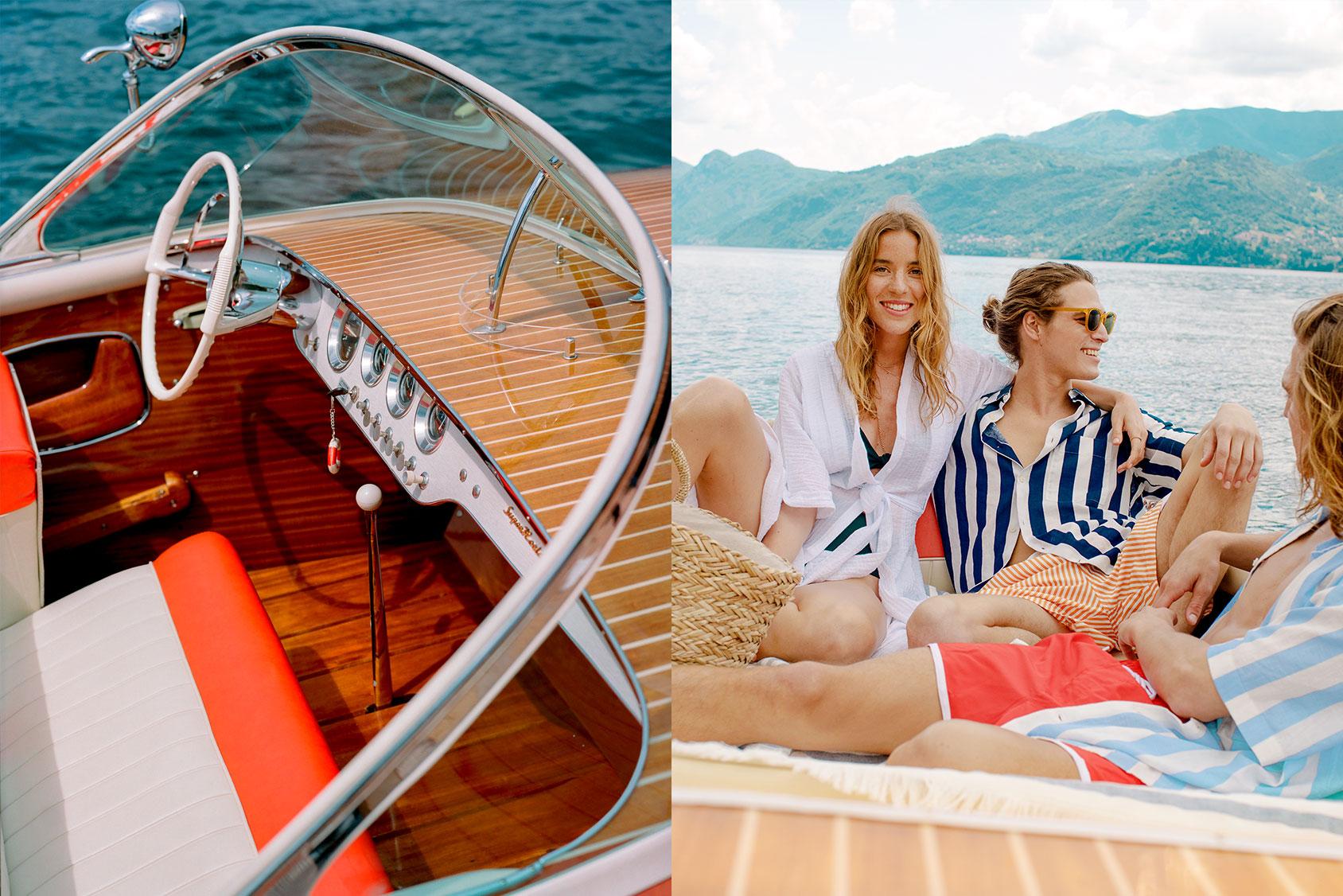 Paolo Faccio and Andrea Faccio Lake Como