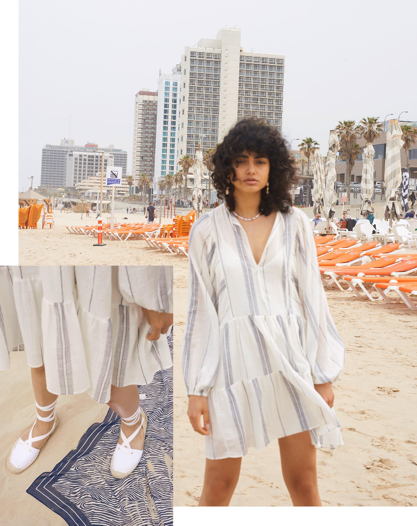 H&M espadrilles and H&M sarong