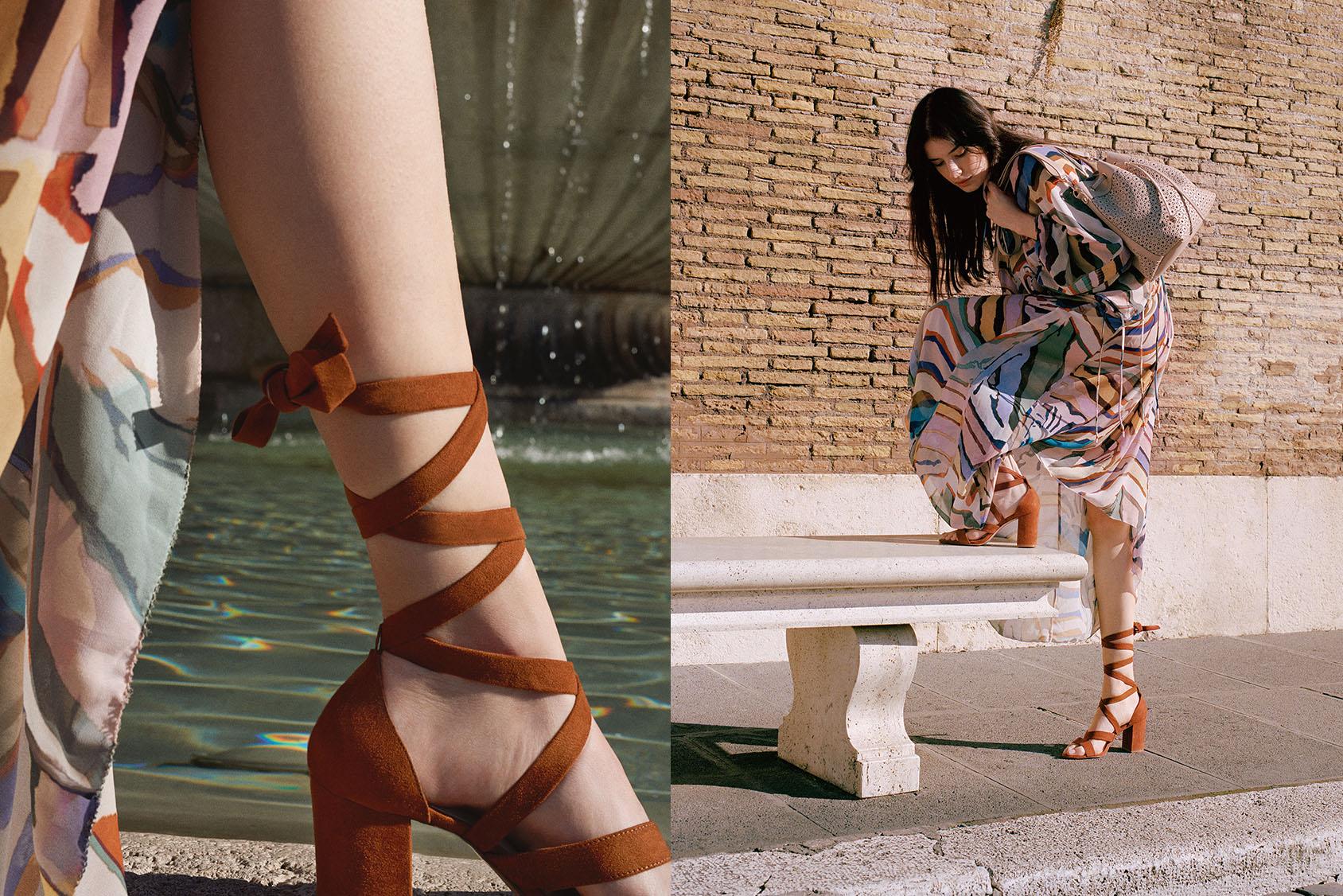 H&M Suede sandal