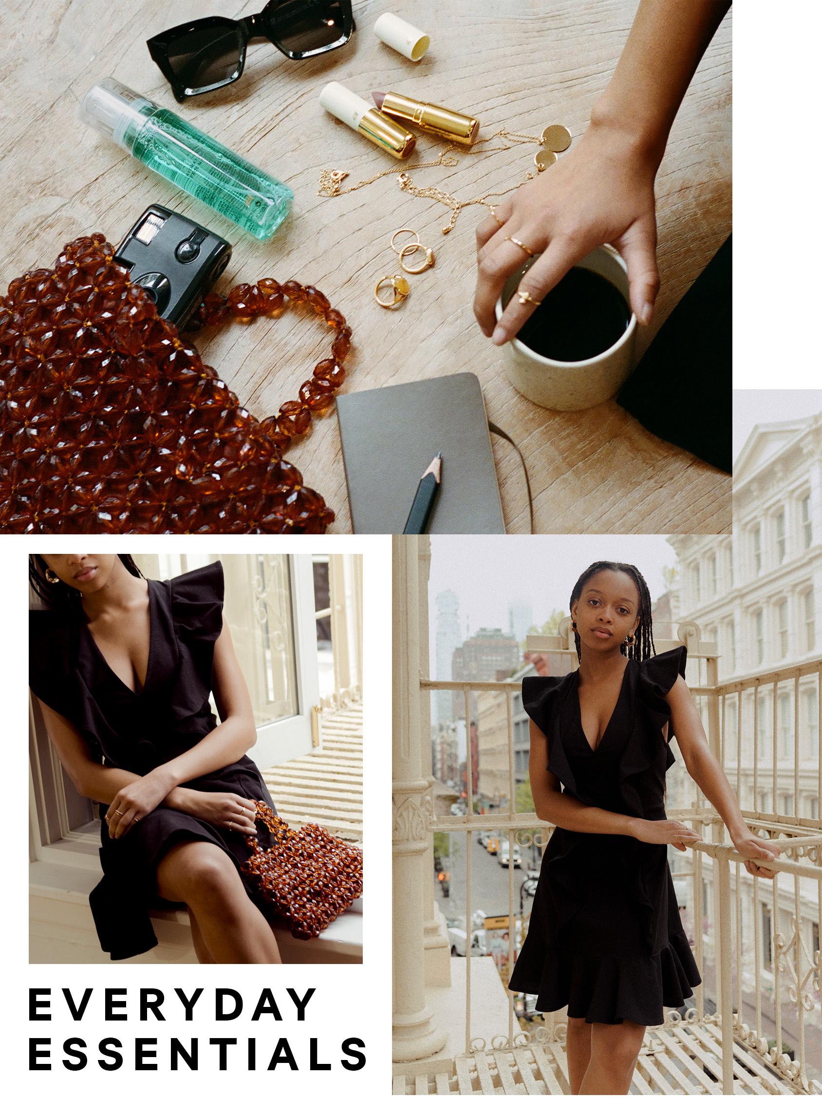 H&M pearl bag