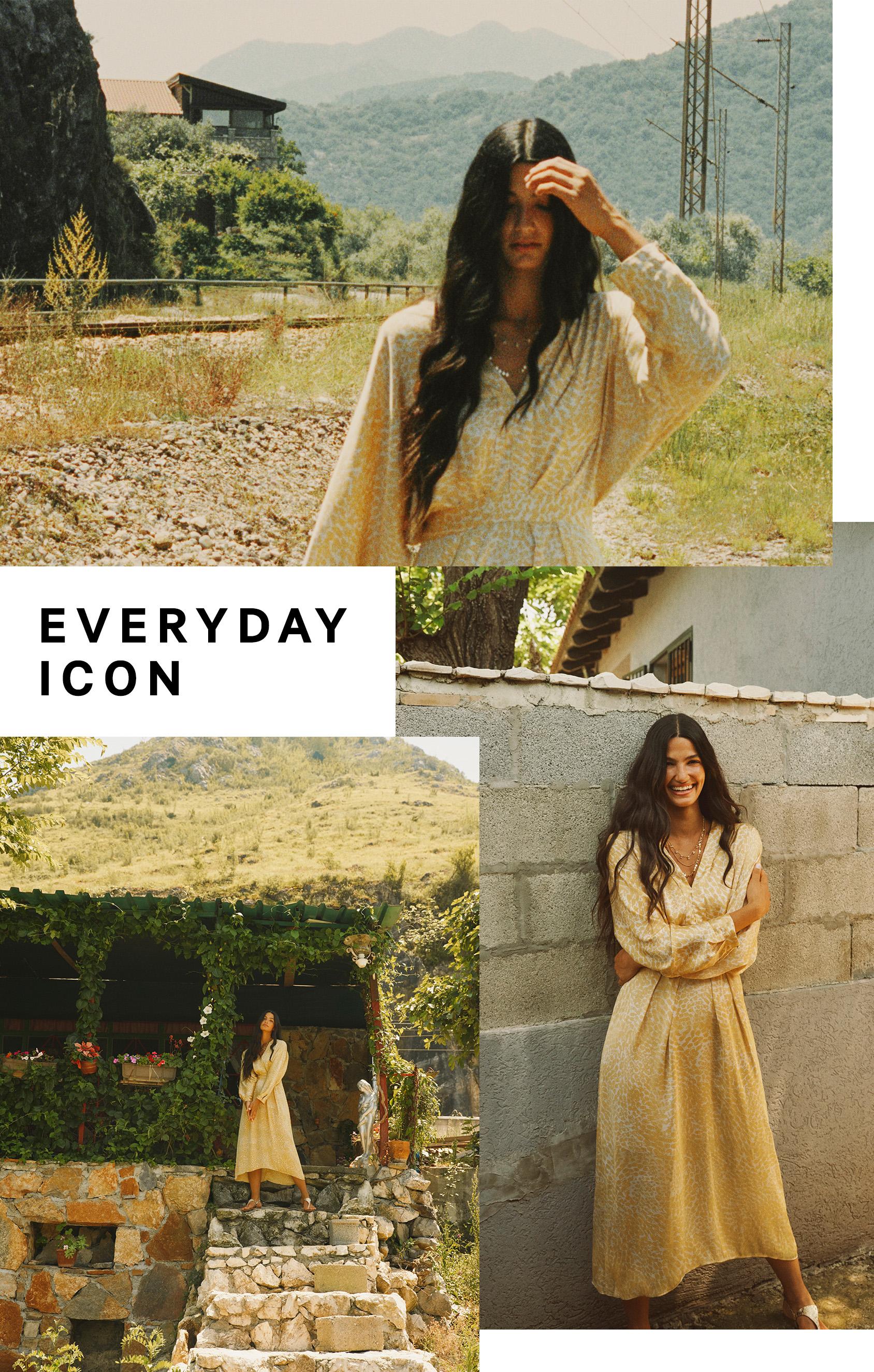 EVERYDAY ICON Tara Emad in H&M dress