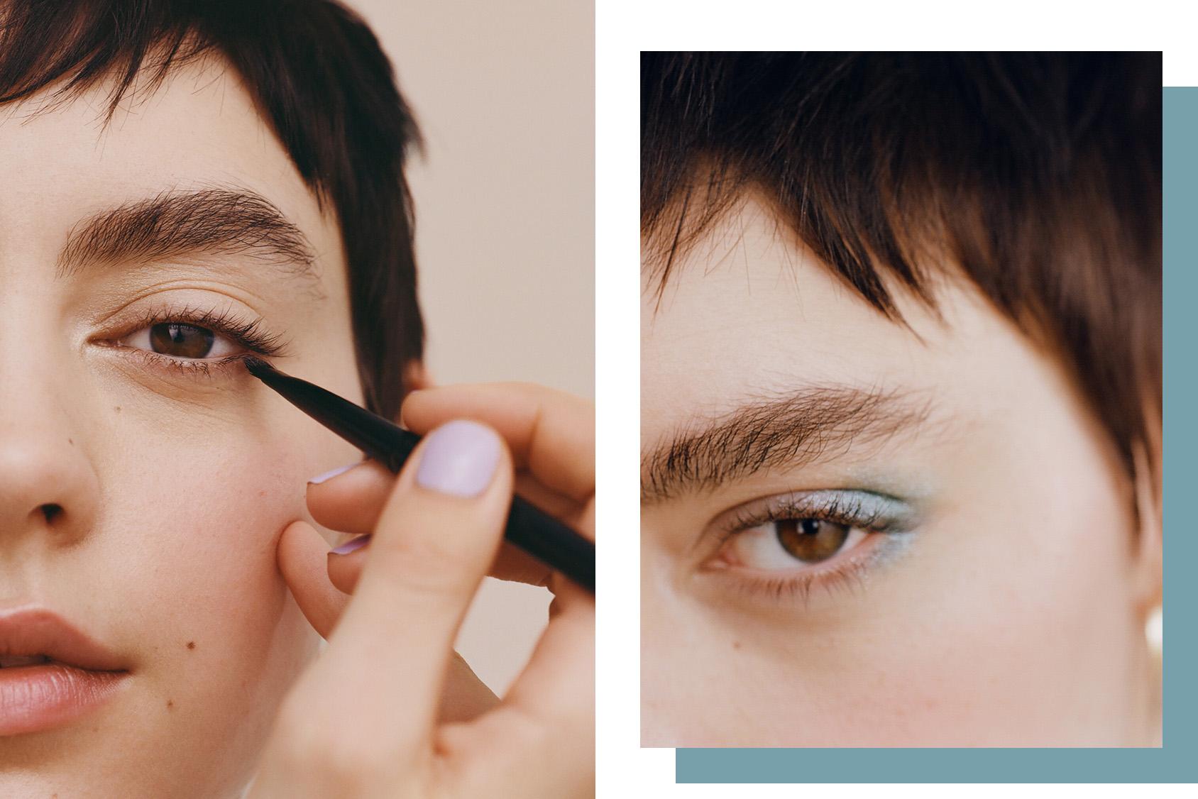 H&M beauty tutorial