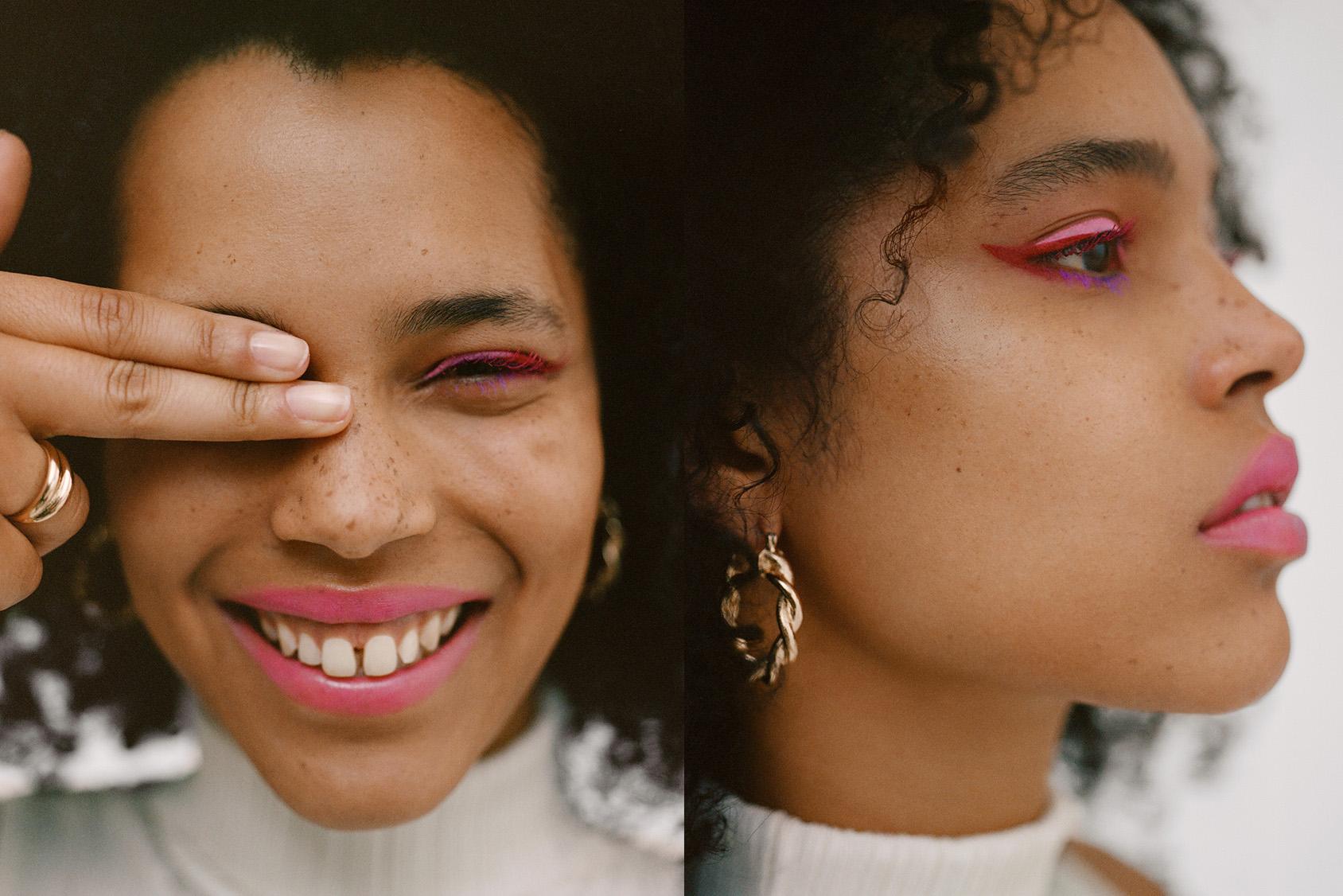 H&M pink eyeliner