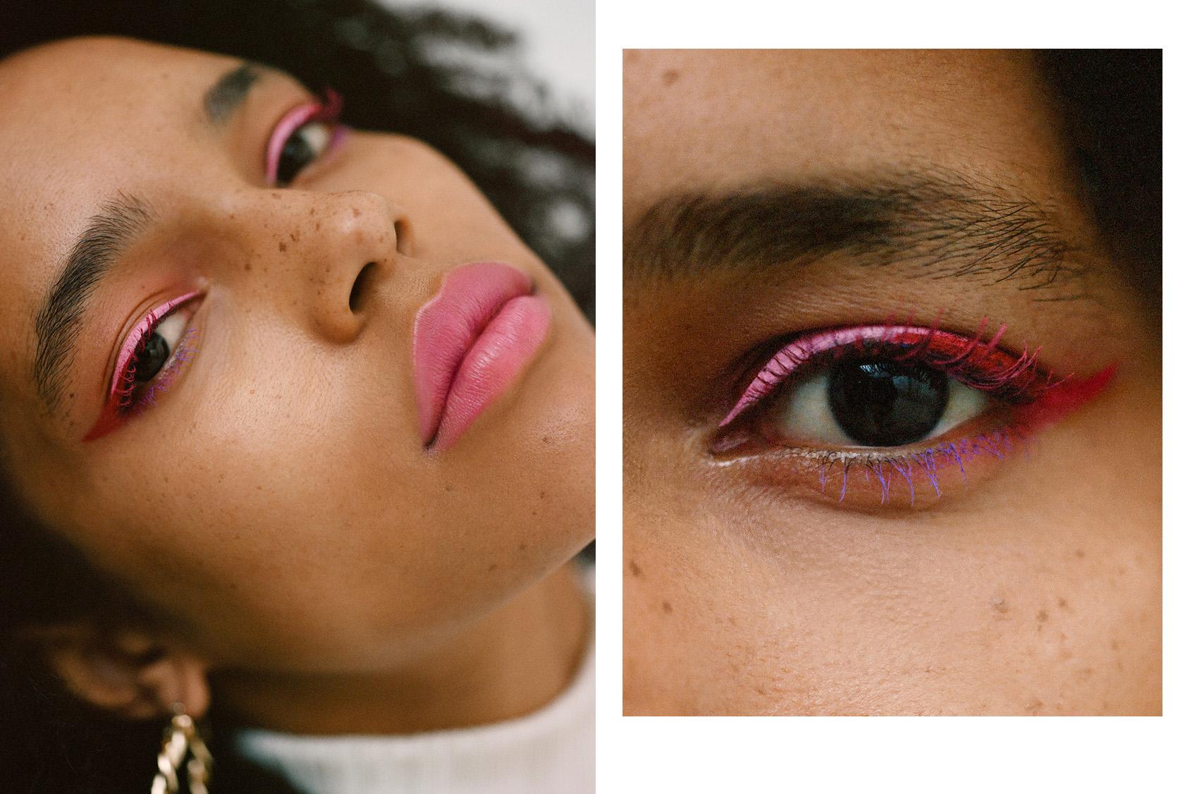 H&M pink makeup