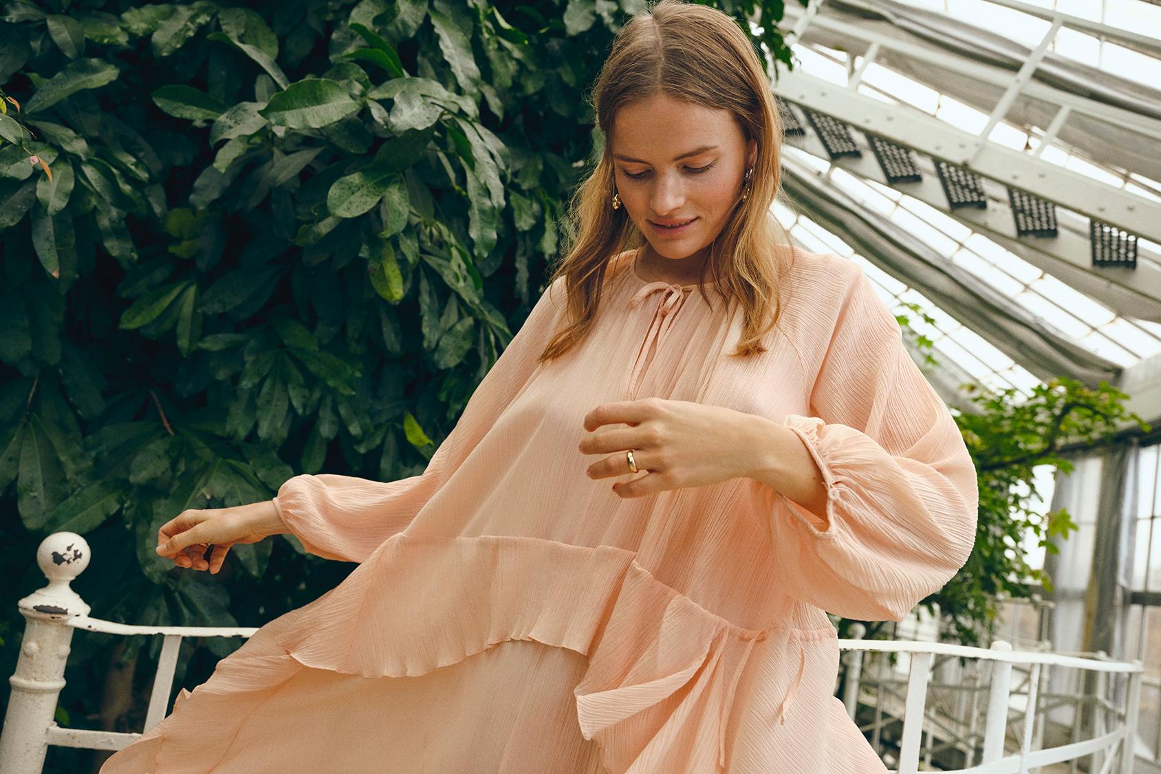 H&M Premium elbise