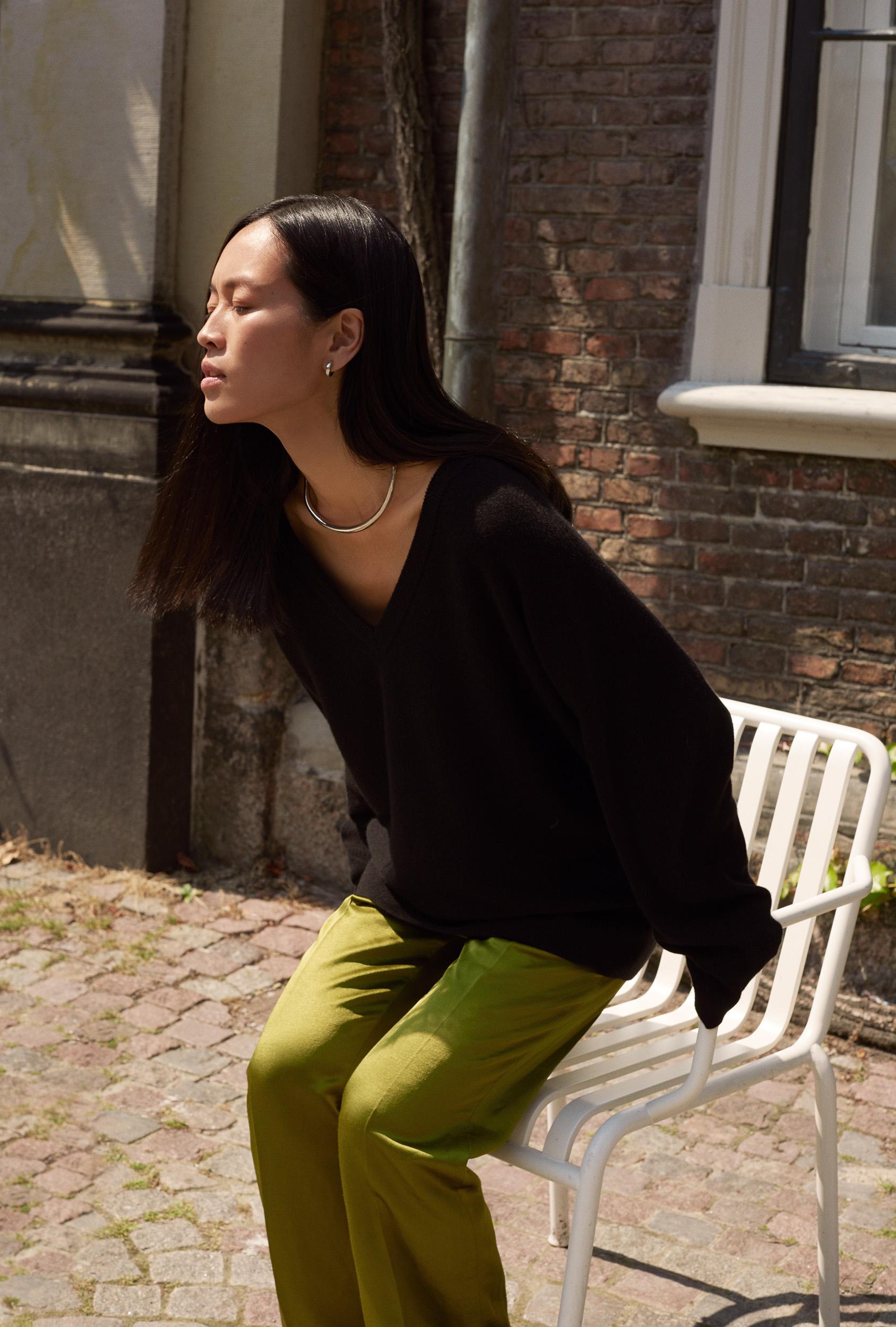 Maria Van Nguyen 黑色套衫 H&M