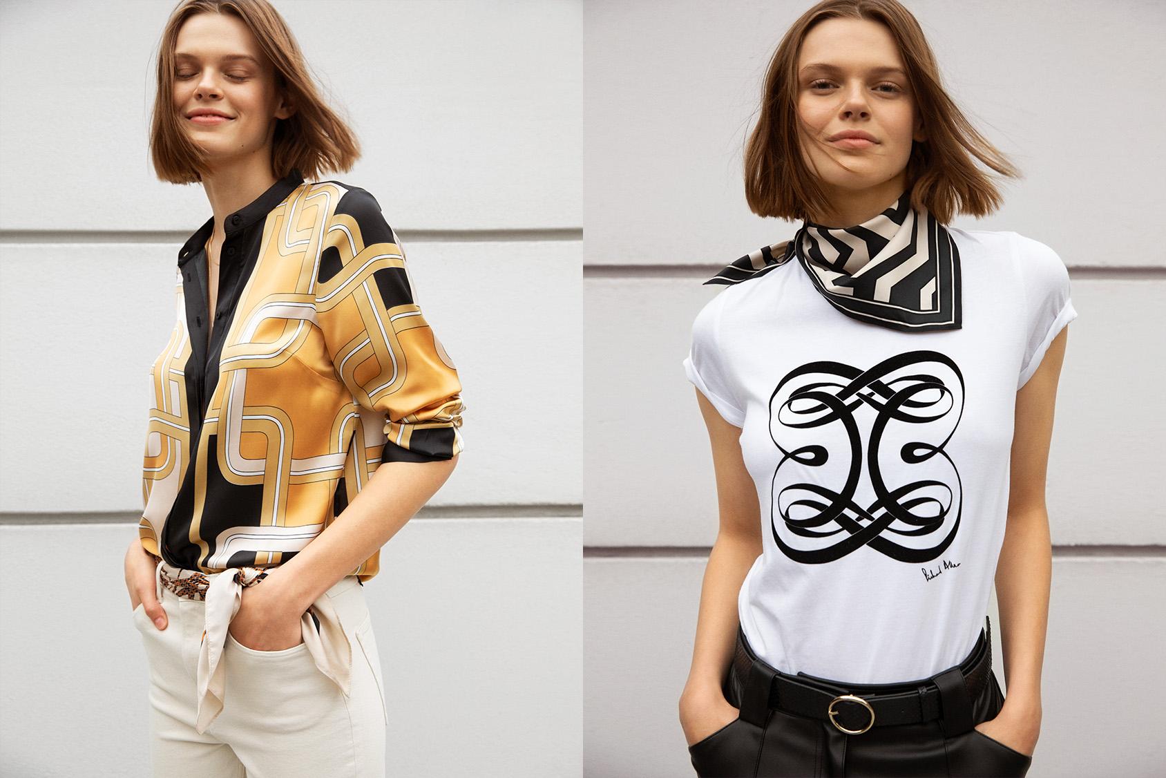 Richard Allan x H&M scarf