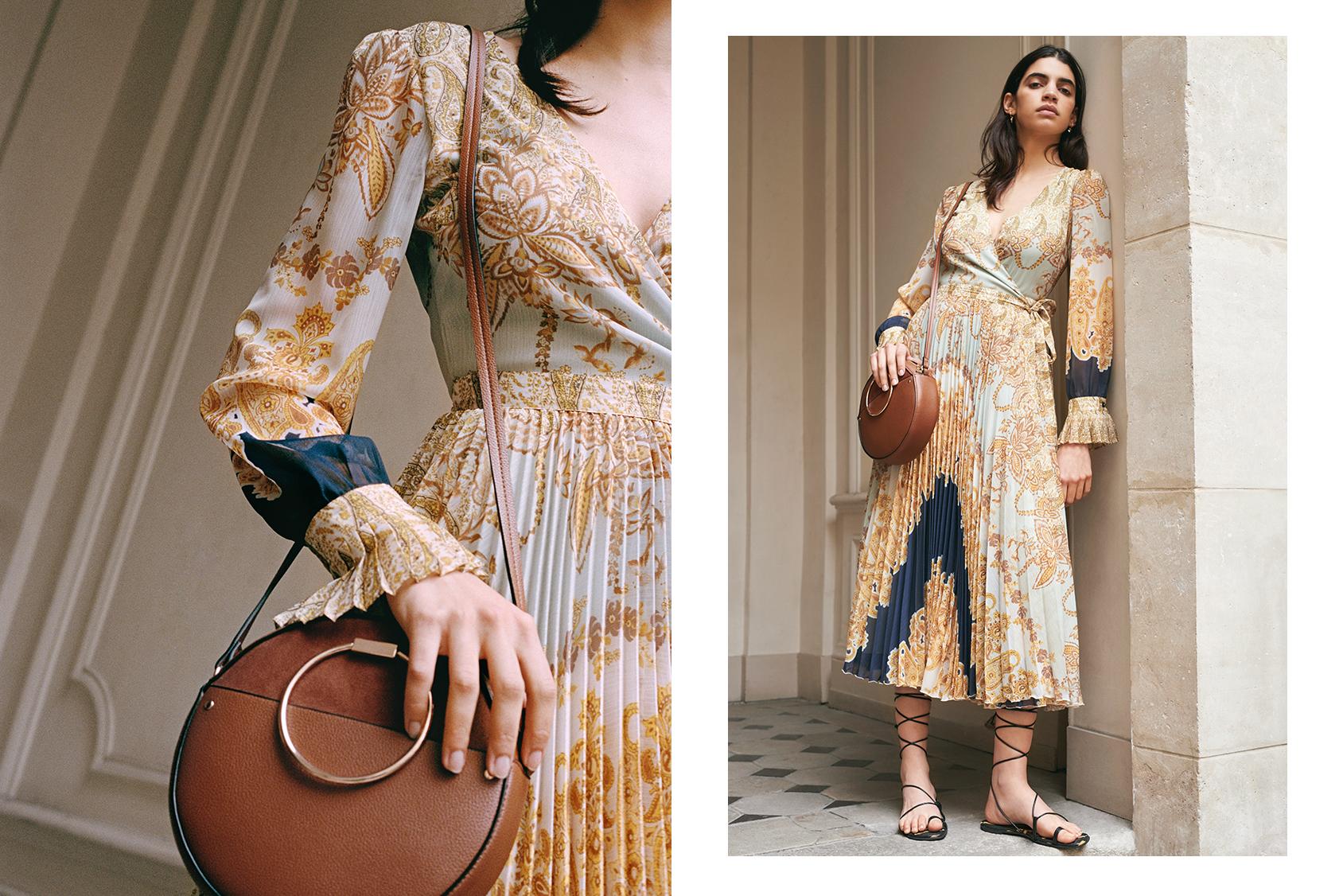 H&M bag and dress