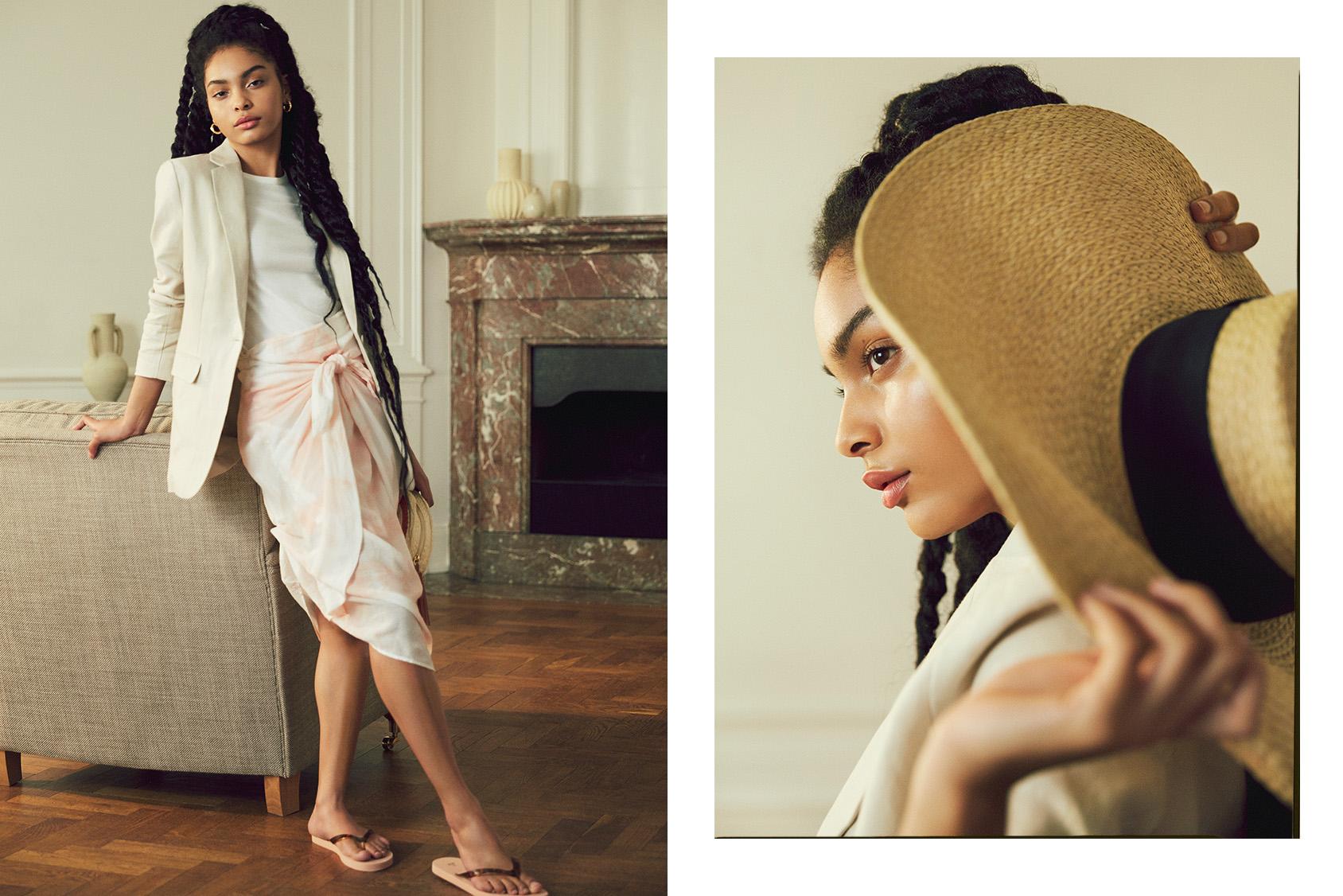 H&M tie-dye sarong